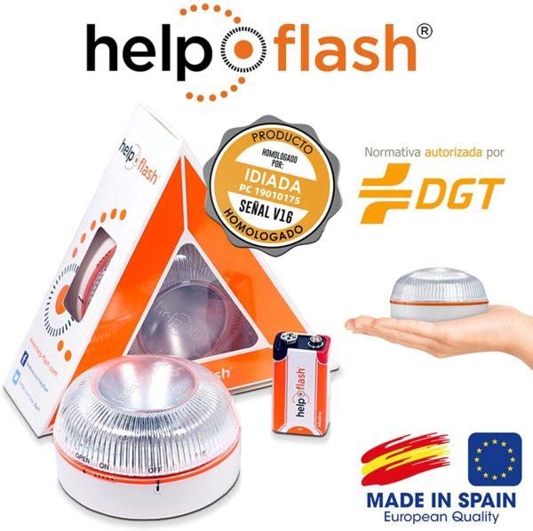 "Luz de emergencia ""Help Flash"" homologada"