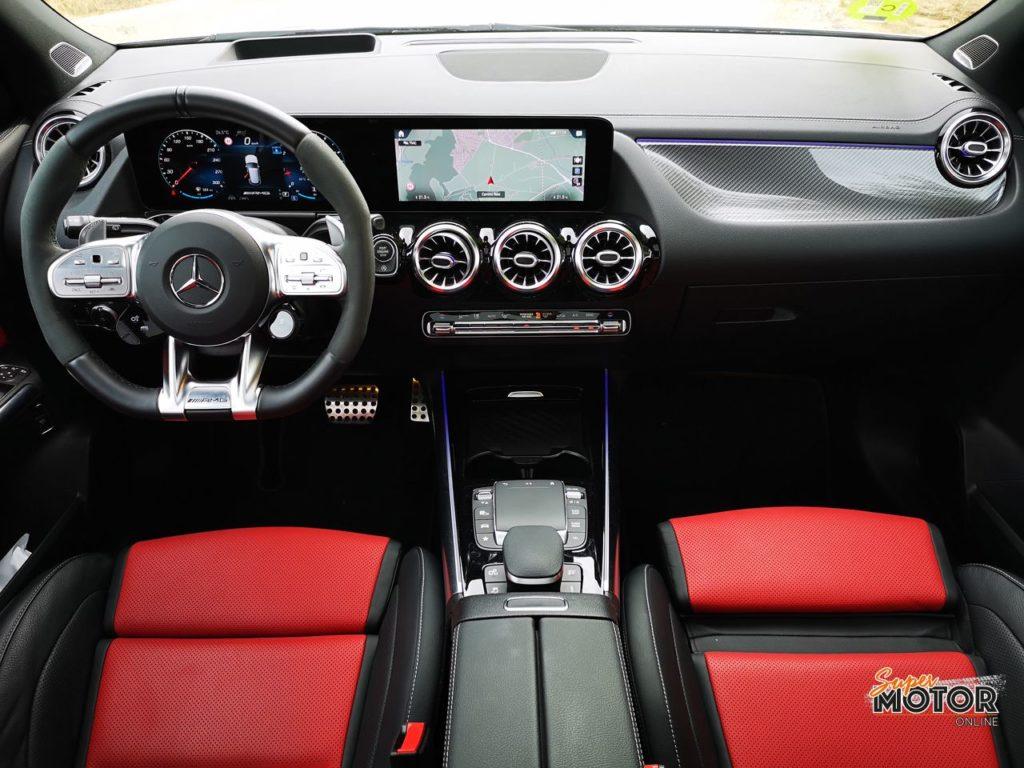 Al volante del Mercedes-AMG GLA 45s 4matic+ 2021