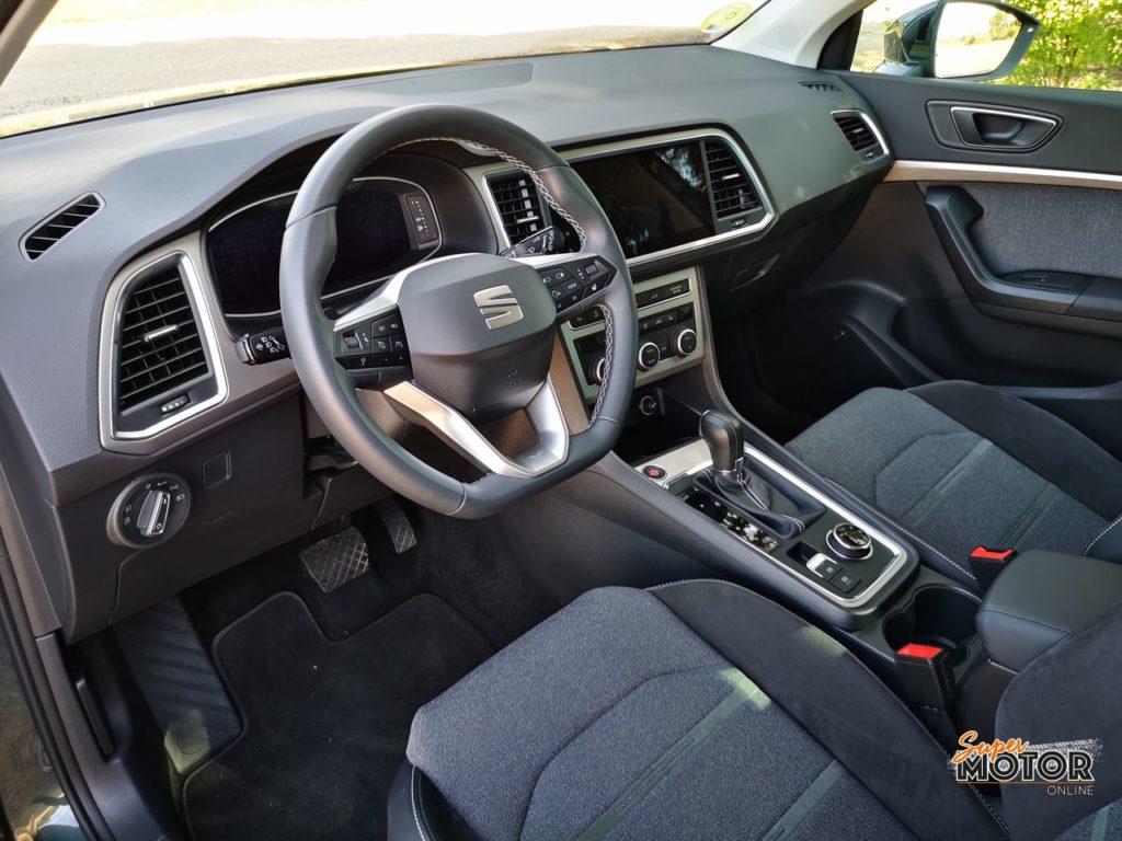 Al volante del SEAT Ateca XPerience 2021